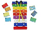D\'Luca TL8-2 8 Notes Children Xylophone Glockenspiel with Music Cards