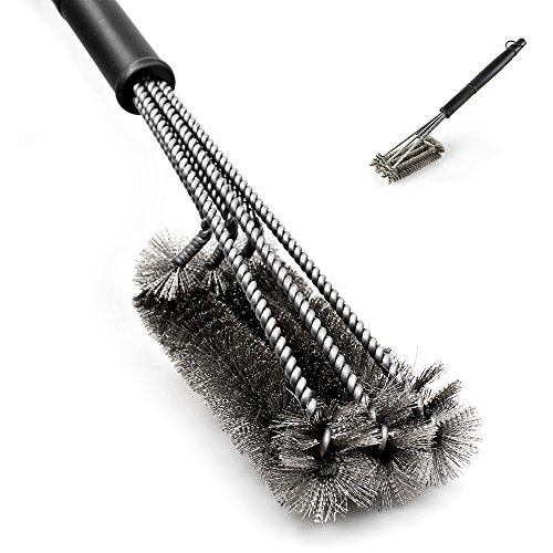 Cleaning Barbeque Scrubber Stainless Bristle product image
