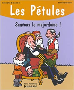 """Afficher """"Pétules (Les) n° 10 Sauvons le majordome !"""""""