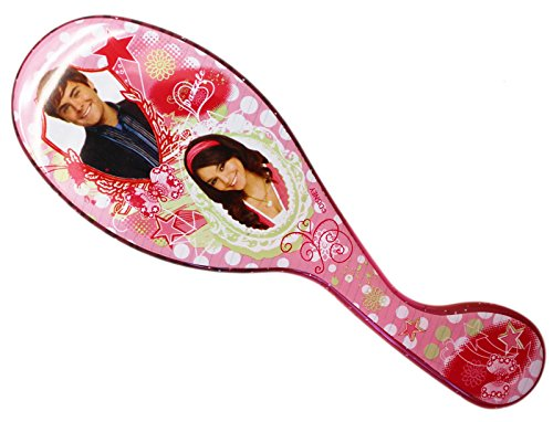 Disney's High School Musical Gabriella and Troy Pink Hairbrush