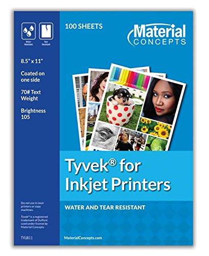 Tyvek Sheets for Inkjet Printers (Dupont Tyvek Paper)