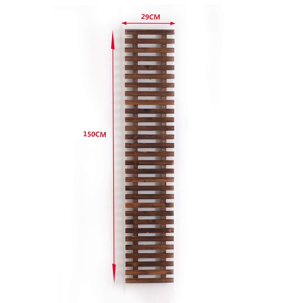 designer online FPigSHS Attacco a Muro Appendiabiti a Fiori Supporto Supporto Supporto per Piante Pensile per Fiori Mensola per Fiori Balcone Multifunzione per Interni Legno anticorrosivo Legno Massiccio (Dimensioni   150  29cm)  fantastica qualità