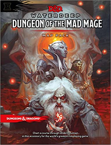 Dungeons & Dragons Waterdeep: Dungeon of the Mad Mage Maps and
