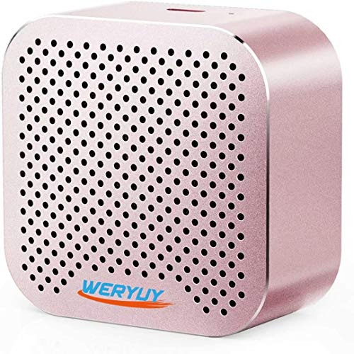Anker AK-848061067422 SoundCore Nano Bluetooth Speaker with Big Sound, Super-Portable Wireless Speaker with Built-in Mic, Pink
