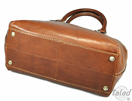 "Gianni Conti Borsa ""Martina Cognac Made in Italy 31 x 24 x 14 cm"