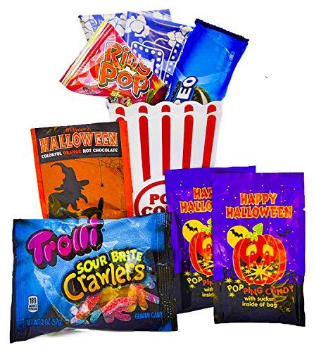 Halloween Movie Themed Pumpkin (Themed Gift Baskets Gift Box Sets (Halloween Movie)