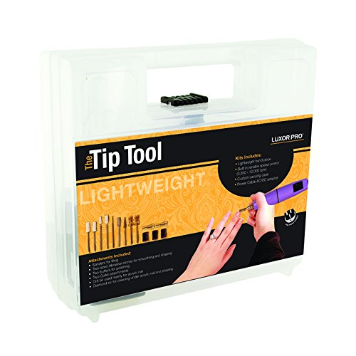 Luxor Professional The Tip Tool High Powered Tool for Natural and Artificial Nails Model No. 1934 by Luxor Pro