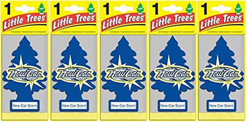 Air Freshener - New Car Scent - 5 Pack