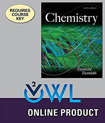 OWLv2 for Zumdahl/Zumdahl's Chemistry, 9th Edition