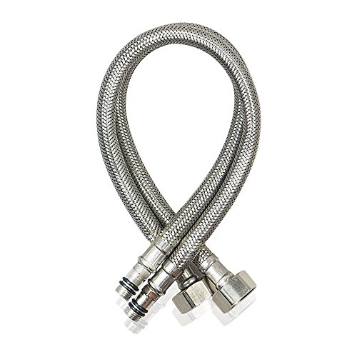 Faucet Connector Braided Stainless Steel Supply Hose 1/2
