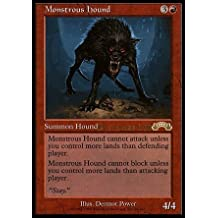Magic: the Gathering - Monstrous Hound (89/143) - Prerelease & Release Promos - Foil by Magic: the Gathering