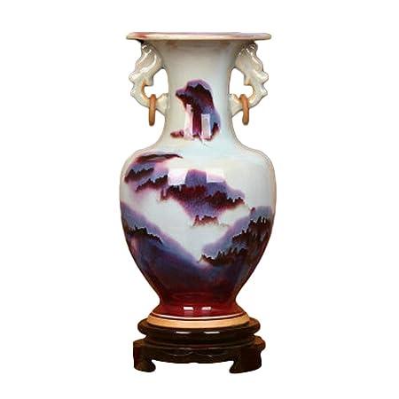 GSDQ Jingdezhen jarrones de cerámica Esmalte Antiguo Horno Oficial ...