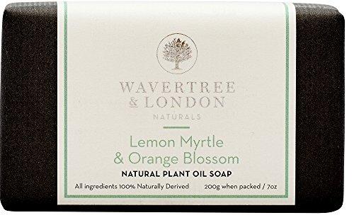 Wavertree & London Lemon Myrtle & Orange Blossom (1 bar) -Triple-milled (twice) Shea Butter soap Bar -Rich & Creamy Lather