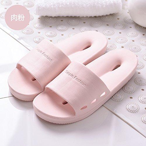 verano baños baño de fresco verano Zapatillas DogHaccd zapatillas de agua pareja dormitorio casa zapatillas la Un masculino de de Polvo2 antideslizantes SqISwgP