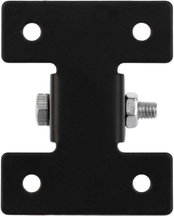 ToGames 24V La tige t/élescopique de lien de supports de support en m/étal noir pour les moteurs actionneurs lin/éaires r/ésistants de DC12V