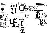 Rvinyl Rdash Dash Kit Decal Trim for Chevrolet