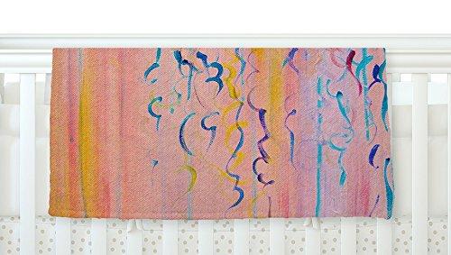 kess inhouse Ebi Emporium algodón de azúcar Whispers pintura de color rosa bebé de forro polar manta, 40' x 30'
