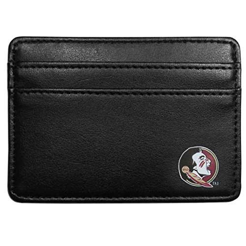 Florida State Credit Card (Siskiyou NCAA Florida State Seminoles Weekend Wallet, Black)