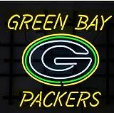 Urby™ 19''x15'' Sports Teams GB_Packers Custom Neon Sign Beer Bar Pub Neon Light 3-Year Warranty-Fantastic Artwork! S39