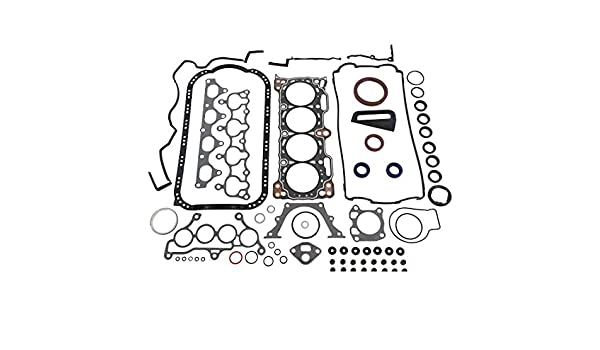 16V L4 B21A1 2.1L 2056cc DOHC Honda//Prelude DNJ FGS2092 Full Gasket//Sealing Set For 1990-1991