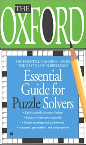 the oxford essential guide for puzzle solvers essential resource