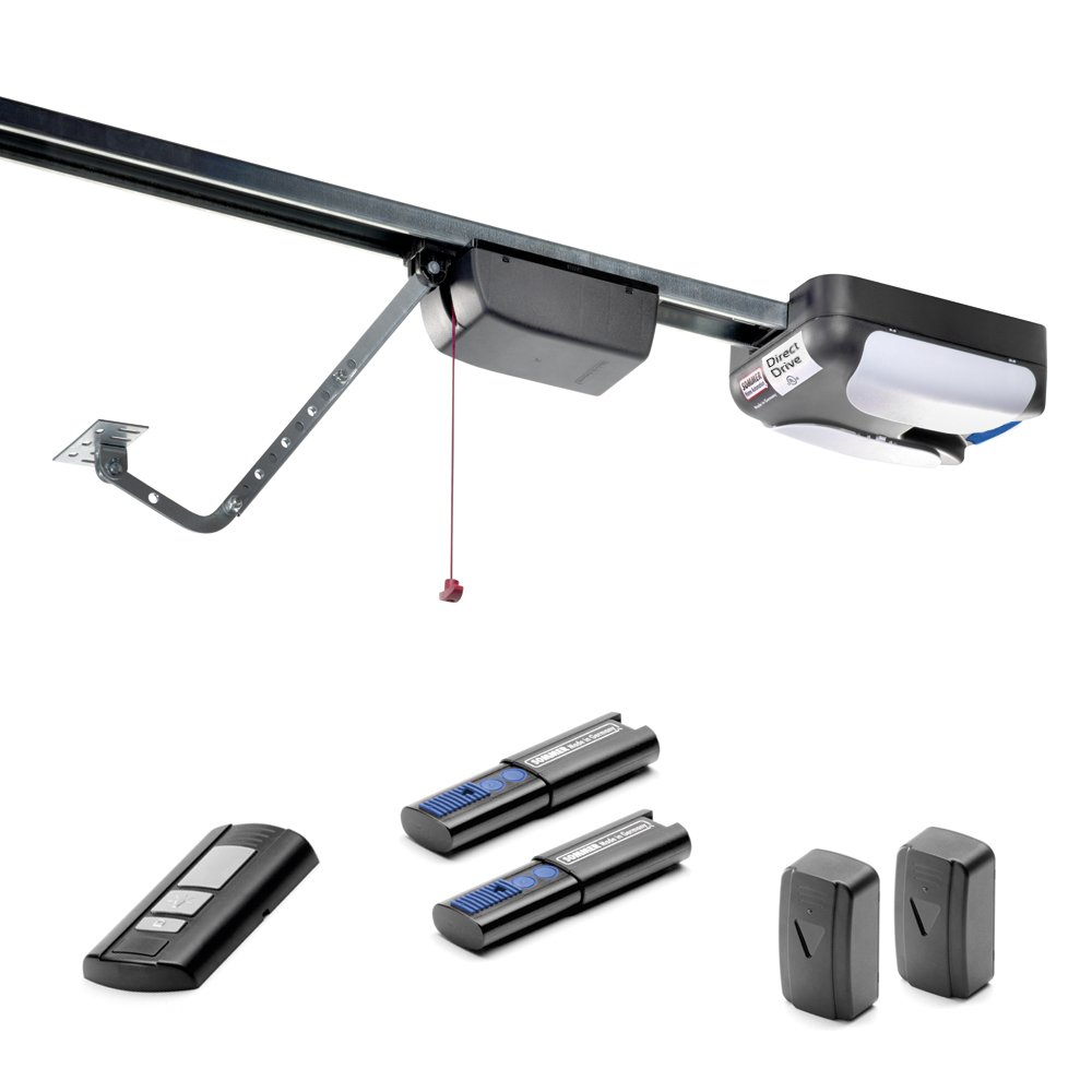 SOMMER 1052V000 Direct Drive 1.0 hp Quiet, Durable and Strong Garage Door Opener by SOMMER