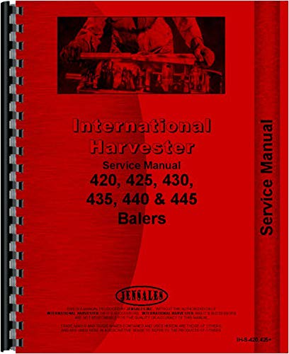 - International Harvester 435 Baler Service Manual (SN# U000501 and Up)
