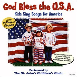 America Band Songs - God Bless the U.S.A: Kids Sing Songs for America