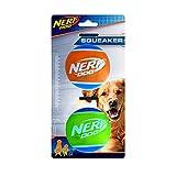 Nerf Dog 3 inch TPR Squeak Tennis Ball 2-pack