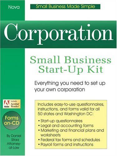S-Corporation: Small Business Start-Up Kit (Small Business Made Simple)