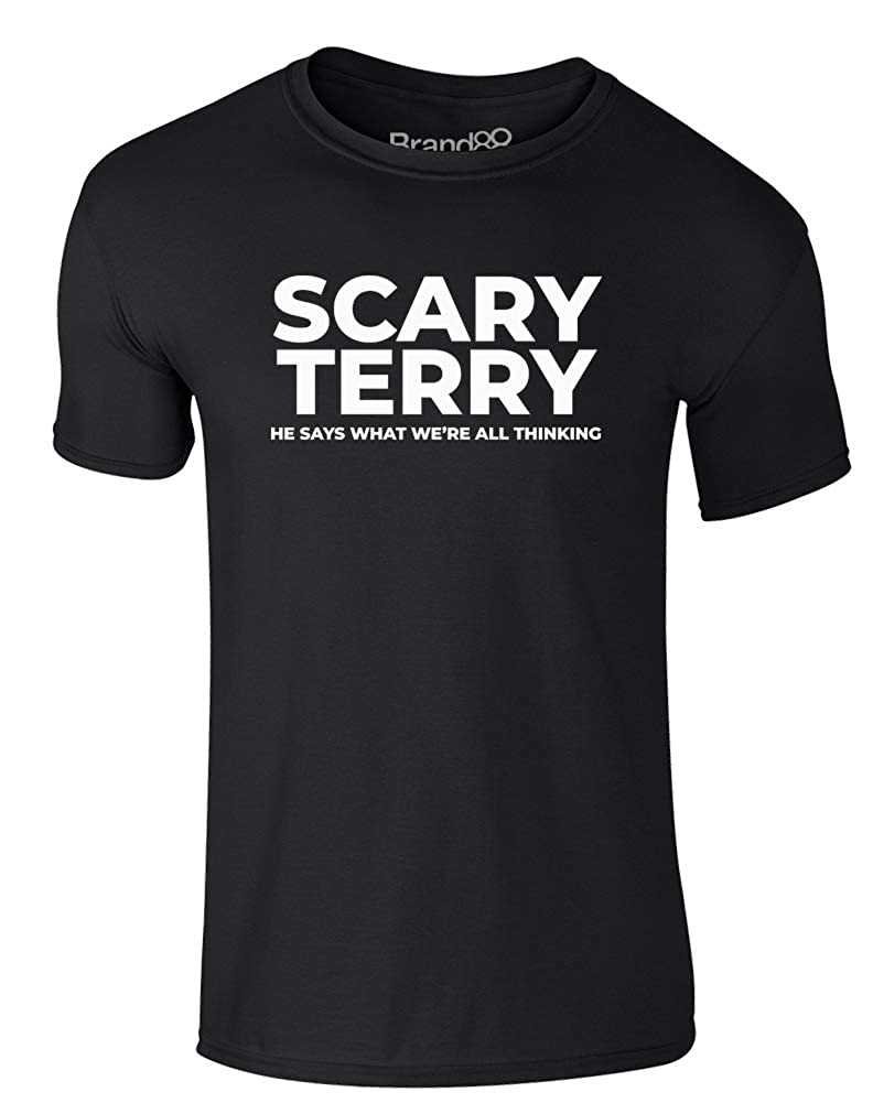 Brand88 - Scary Terry, Adults Printed T-Shirt SS030_CC020