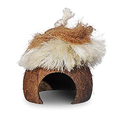Prevue Pet Products Naturals Critter Hut Small Animal Toy 62812