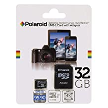 32GB Ultra Fast Micro SD Card, U3 Class 10 UHS-1 SDHC Memory Card with Adapter –Up to 95MB/s Read Speed & 90MB/s Write Speed