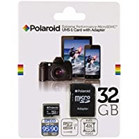 32 GB Micro SD Card for Smart Phones (Samsung Galaxy S7,S6,S5,S4, LG, Motorola, Sony, BLU, Moto, HTC) and Tablets – Super High speed U3 Up to 95mb/s Class 10 MicroSDXC 32 GB flash memory by POLAROID