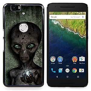Sci-Fi Ufo Conspiracy Grey Caja protectora de pl??stico duro Dise?¡Àado King Case For Huawei Nexus 6P