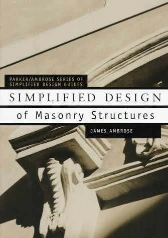 Simplified Design of Masonry Structures