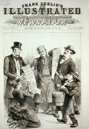 Photo: Republican, Democratic, women suffrage, and temperance