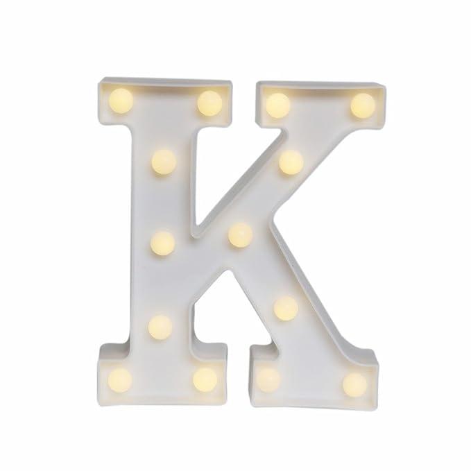 sdoublem LED Marquee luces de carta alfabeto luz cartel ...