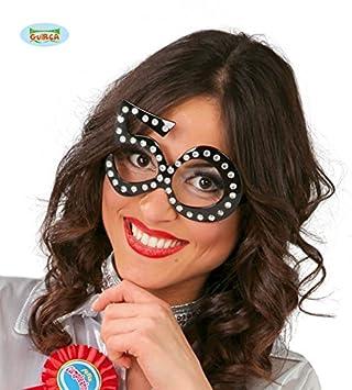 Guirca - Gafas número 50, Color Negro, 7124