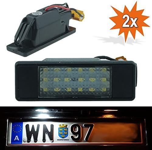 Do Led B17 Led Kennzeichenbeleuchtung Mit E Prüfzeichen Xenon Optik Auto