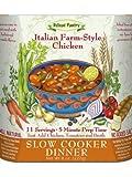 Italian Farm-Style Chicken Slow Cooker Dinner