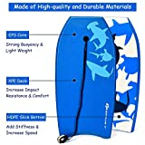 Goplus Body Board, Lightweight Bodyboard with EPS