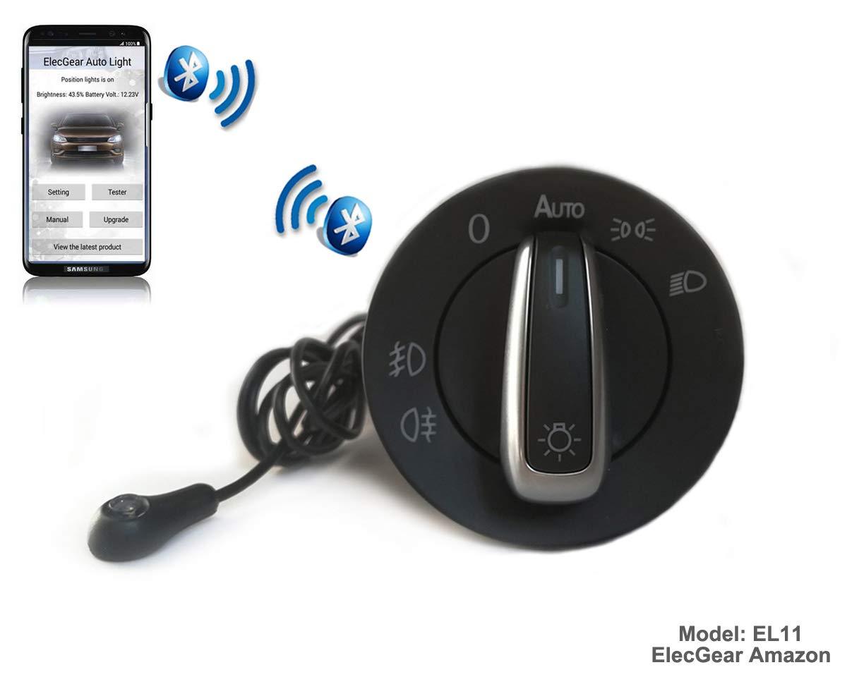 Brouillard Lumi/ère Interrupteur de Contr/ôle Unit/é 7L5941531B Coming Leaving Home Relais Turbo S EL16 Bluetooth App Commande Phare Feux S Cayenne 955 // 957 Base GTS auto commutateur