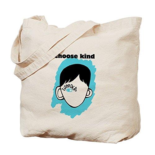 "Cafepress–Wonder ""Scegli kind–Borsa di tela naturale, panno shopping bag"