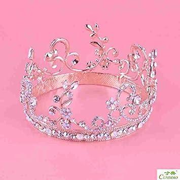 Amazon.com: Cantidad 1 x corona Tiara diadema de boda mujer ...