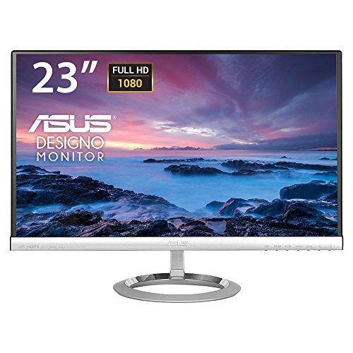 ASUS MX239H 23-Inch, Full HD 1920x1080 IPS, Audio by Bang & Olufsen ICEpower HDMI VGA Frameless Monitor