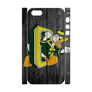 Generic Customize Unique Design NCAA Oregon Ducks Team Logo Plastic Case Cover for iPhone5 iPhone5S