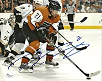 Peter Forsberg Hand Signed 8x10 Photo JSA Nordiques Avalanche Predators Sweden -Authentic Hockey Autograph