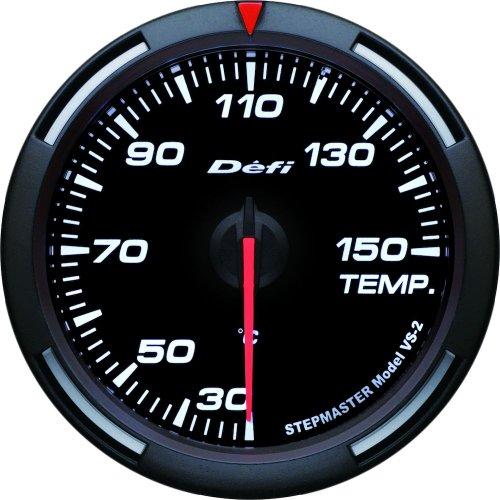 Defi DF11706 Racer PSI Temperature Gauge, White, 60mm