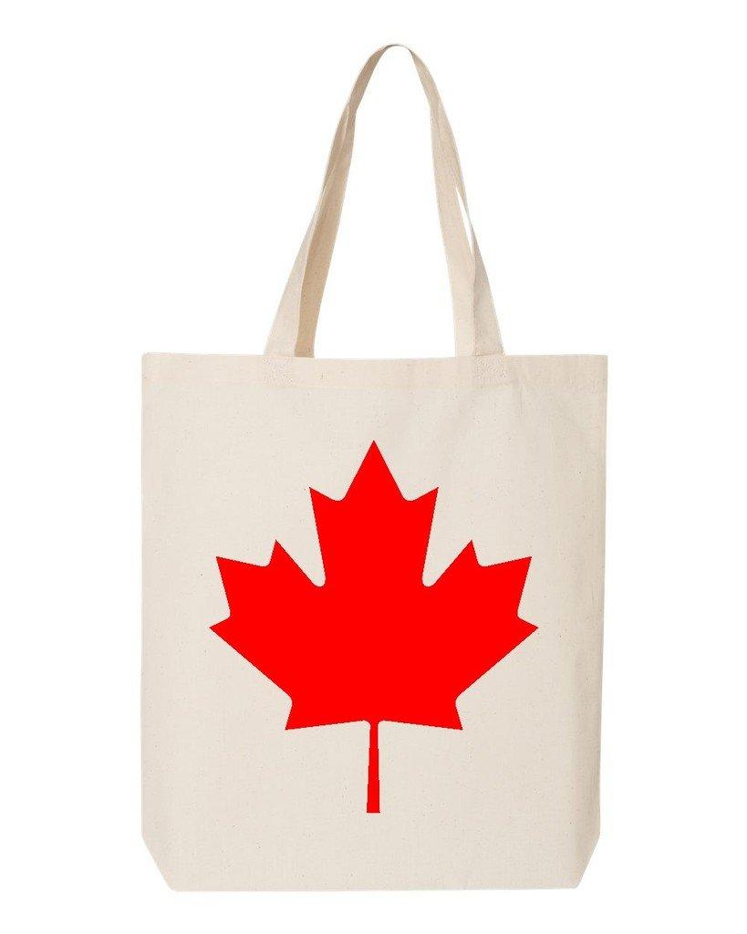 shop4ever Canada Maple Leafコットントートバッグカナダ国旗再利用可能なショッピングバッグ6 oz Eco 12 oz ブルー S4E_1215_CanadaRedLf_TB_QTBG_Navy_3 B06XPQWZSQ ナチュラル  ナチュラル|1, 太宰府市 2ec70cbb